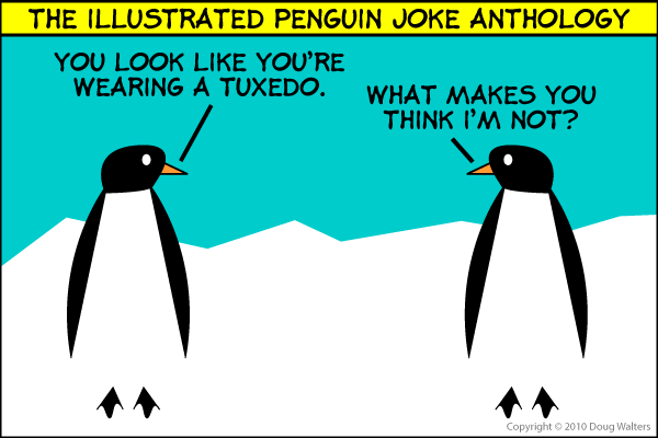 The Penguin Joke Illustrated Anthology 003 - Garrison Keillor's Penguin Joke