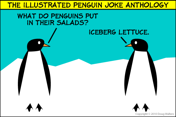 The Illustrated Penguin Joke Anthology 007 - Penguin Salad