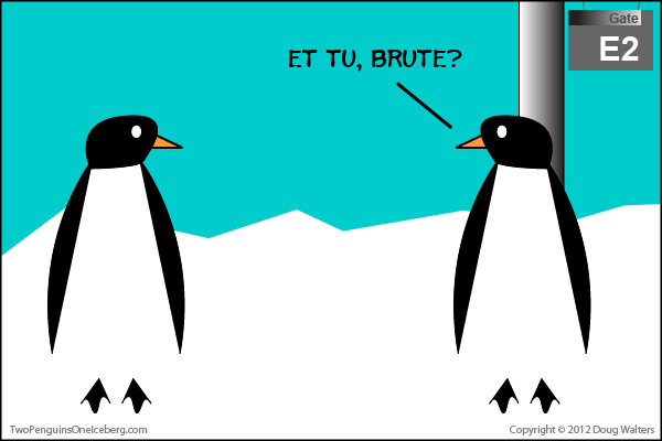 Two Penguins, One Iceberg Episode 64-001
